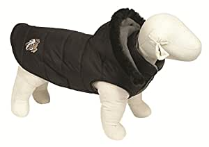 Doggy Things Puffa Jacket, S, Black