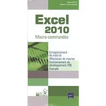 Excel 2010 - Macro-commandes