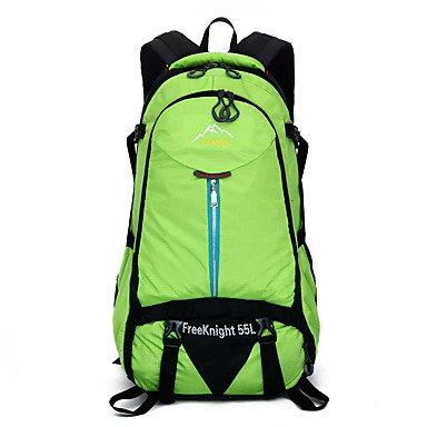 35 L Rucksack Camping & Wandern Klettern Legere Sport Regendicht Staubdicht Multifunktions Atmungsaktiv Black