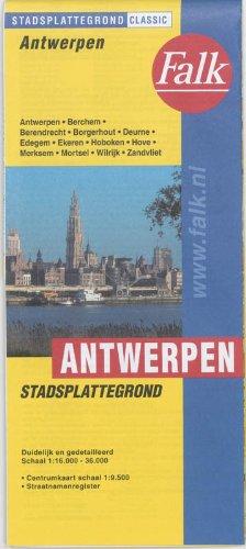 Antwerpen plattegrond por Falkplan-Edicenter