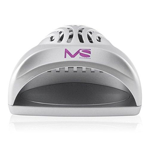 MelodySusie Mini Ventilateur Séchoir à Ongles pour Vernis à Ongle – Argent