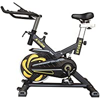 All Fitness Bicicleta Indoor FH, Bici Estática para casa, Volante de inercia de 21kg