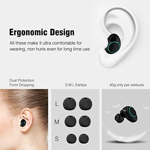 Muzili V50 Bluetooth Kopfhörer Bild 4*