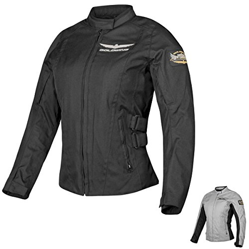 Honda Collection Damen Jacke Gold Wing Textil Touring Damenjacke, Geschlecht: Damen, Größe: S, Kleidungsmaterial: Textil, Markenname: Grau, Primärfarbe: Grau 549489 - Goldwing Textile Jacket