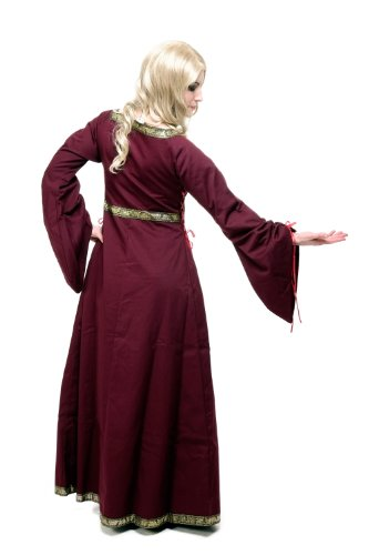 Kostüm Damen Damenkostüm Kleid Mittelalter Romanik Gotik Gothic Burgfräulein L054 Gr. 46 / L - 2