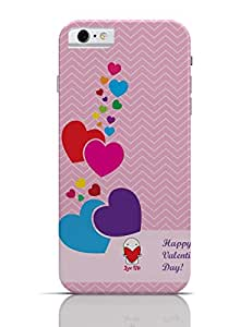 PosterGuy iPhone 6 / 6S Case Cover - Color Full Hearts Happy Valentines Day And Love Me