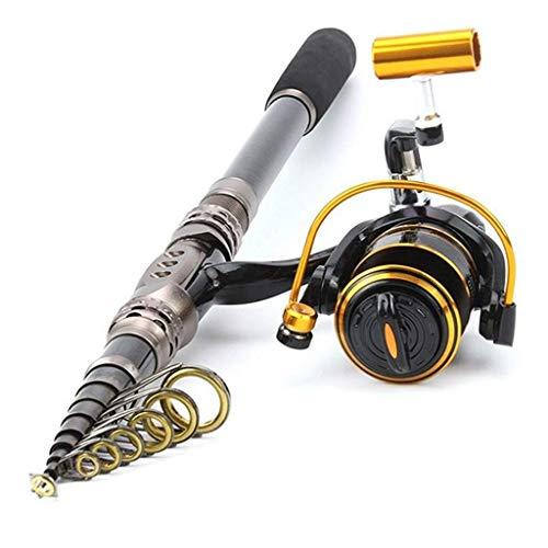 Teleskop Angelrute Anzug Ultra Light Mini Shrink Wheel Sea Pole Mit Tasche