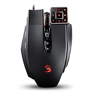 Bloody A4Tech Ml160Commander Laser Gaming Mouse Black