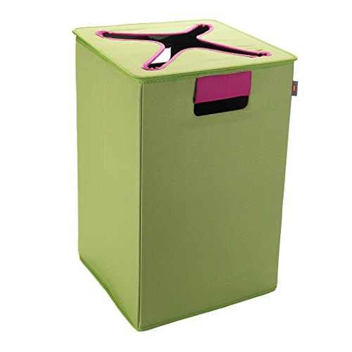 Preisvergleich Produktbild OXO 6222900–Korb mit Deckel, grün und pink