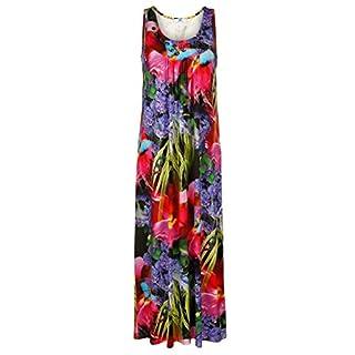 Alba Moda Damen Strandkleid Multicolor