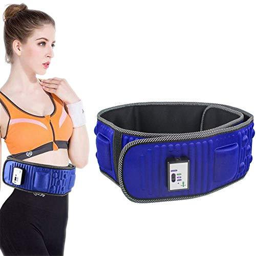 """WXH Einstellbarer elektrischer vibrierender Slimmerbelt-Massagegerät, Fettverbrennungstrainer für Gewichtsverlust, 50\""""* 7\"""", multifunktionale Autoaufladung, für Männer und Frauen"""