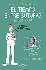 El tiempo entre suturas par  Enfermera Saturada