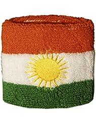 Schweißband Motiv Fahne / Flagge Kurdistan + gratis Aufkleber, Flaggenfritze®