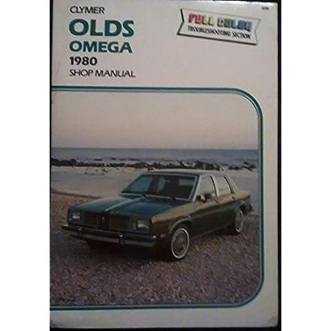 Oldsmobile Omega 1980 shop manual