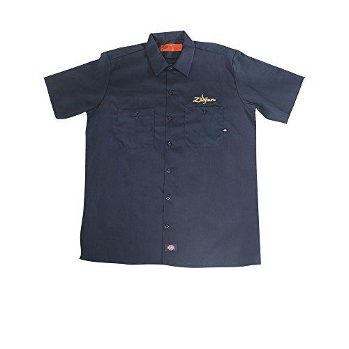camisa-zildjian-dickies-work-shirt-m