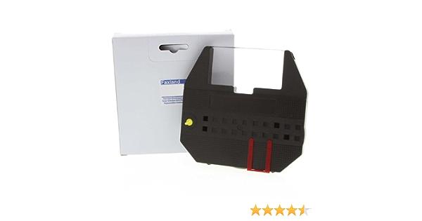 Marke Faxland Farbband f/ür die Sigma SM 8000 Schreibmaschine kompatibel