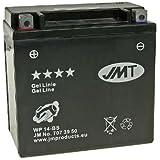 Batería JMT–Gel jmtx14de BS para BMW F 650800GS ABS Bj. 2011–Incluye 7,50euros batería pfand
