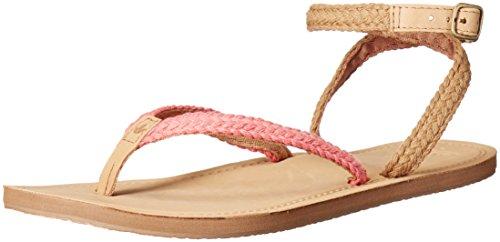 Reef Gypsy Wrap Damen Zehentrenner, braun / rosa, 41 EU - Wrap Sandalen