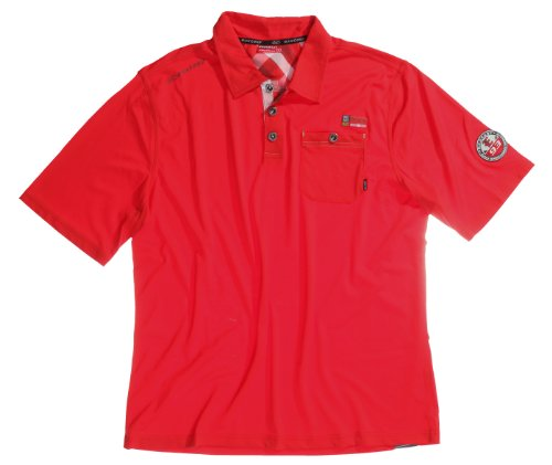 Exxtasy Men's Polo Shirt rot - rot