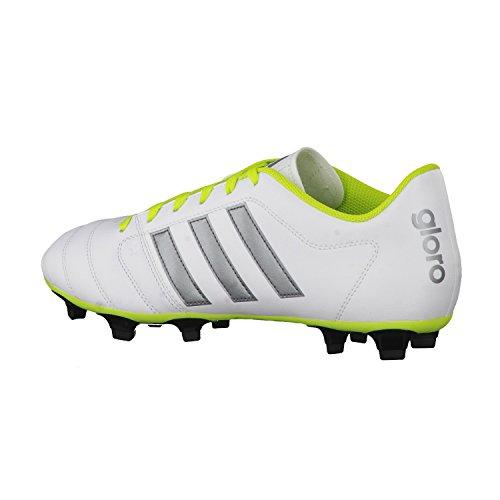 adidas - Gloro 16.2 Fg, Scarpe da ginnastica Uomo ftwr white/night met. f13/semi solar slime