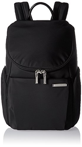 Briggs & Riley Sympatico Small U-Zip Backpack, 13.6 litres, Onyx Maletín, 38 cm, liters, Negro (Onyx)