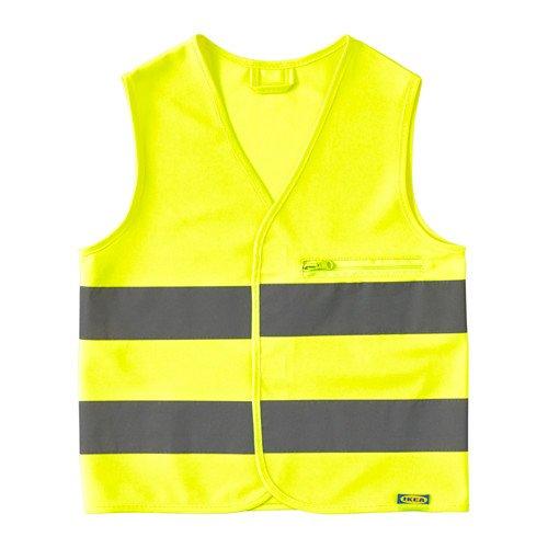Preisvergleich Produktbild IKEA beskydda Hohe Sichtbarkeit Weste die Zipp und Tasche, xs