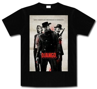 Django Unchained * Liberty Poster * Shirt * XL *