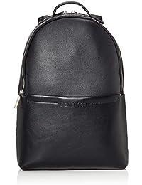 Calvin Klein Herren Flex 2g Round Backpack Schultertasche, 12x40x28 cm