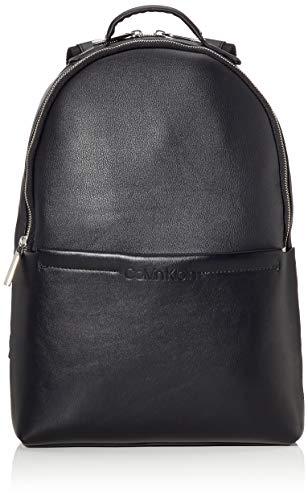 Calvin Klein Herren Flex 2g Round Backpack Schultertasche, Schwarz (Black), 40x28x12cm