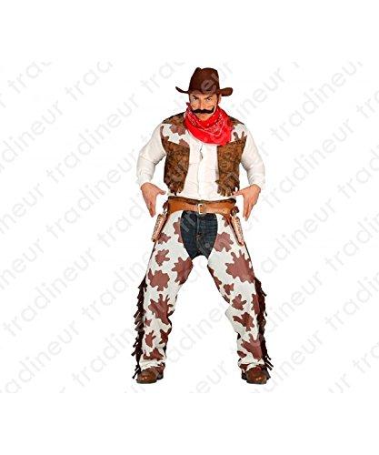 Guirca 80824 - Cowboy Adulto Talla L 52-54