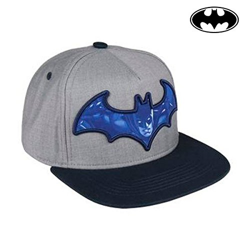 Cerdá Plana Batman Gorra de Tenis, Niños, Gris, 52-58 cm