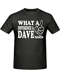 Bamboozled Accessories What A Difference A Dave Makes T Shirt, Sizes Small- XXXL