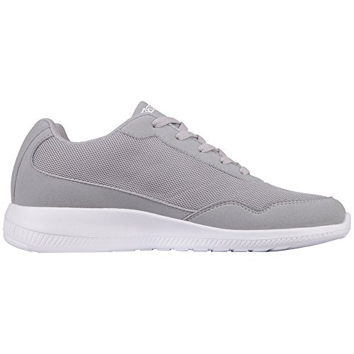 Kappa Apollo, Sneaker Unisex – Adulto Grau (1410 l´grey/Lime)