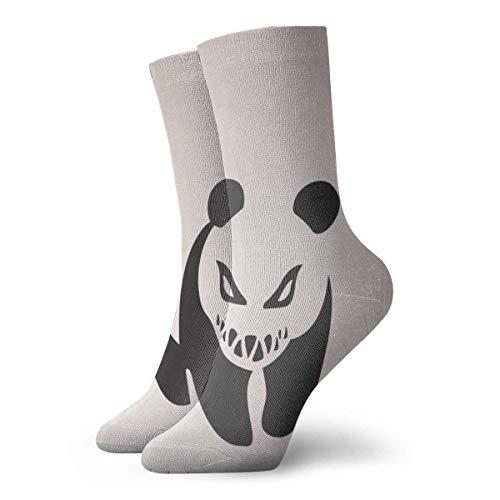 REordernow Kurze Socken für Männer, Frauen Angry Panda Adult Short Socks Cotton Cool Socks for Mens Womens Yoga Hiking Cycling Running Soccer Sports