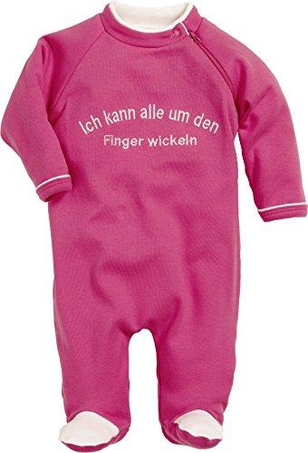 Schnizler Unisex Baby Schlafstrampler Schlafanzug mit Spruch: Ich kann alle um den Finger  Preisvergleich