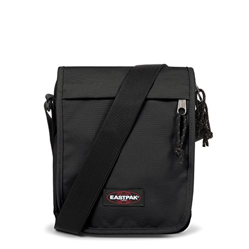Eastpak Flex, Borsa A Tracolla Unisex, Nero (Black), 3.5 liters, Taglia Unica (23 centimeters)