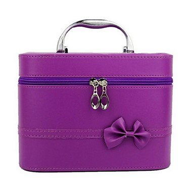 RY@ Femme Polyuréthane Décontracté Trousse de Maquillage , purple
