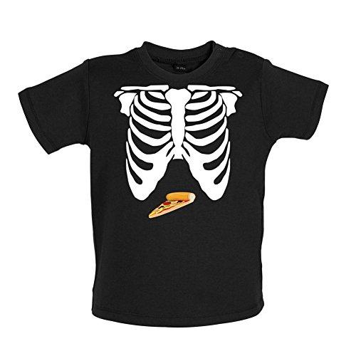 pizza-ventre-t-shirt-bebe-noir-18-a-24-mois