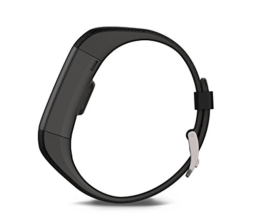 Garmin Vivosmart HR+ GPS Fitness Activity Tracker with Smart Notifications and Wrist Based Heart Rate Monitor – Regular, Black
