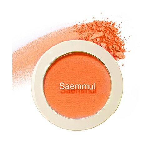 (3 Pack) the SAEM Saemmul Single Blusher OR02 Selfie Orange