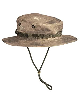 Military Tactical GI Boonie Jungle Bush Hat Cap Hiking Fishing A-TACS Camo