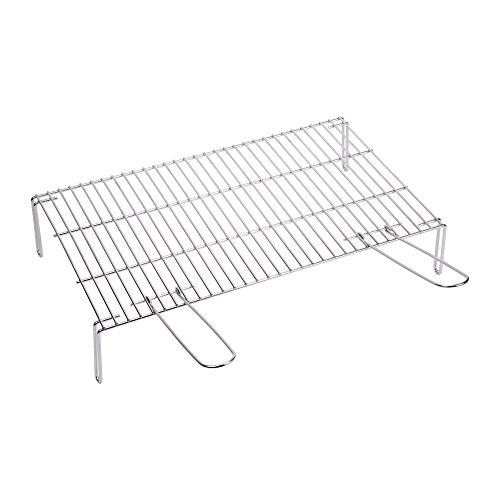 sauvic-02460-grille-de-barbecue-zinguee-avec-pieds-acier-75-x-40-x-14-cm