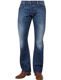 Diesel Zatiny Pantaloni, Jean Coupe Bootcut Homme
