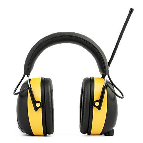 Preisvergleich Produktbild Sicherheits-Ohrenschützer Verstellbarer Kopfhörer Kopfhörer mit Geräuschunterdrückung Gehörschutz für Erwachsene Blue Yellow Rauschunterdrückung Schallschutz Ohrenschützer Schützen Gehörschutz Gehörsc