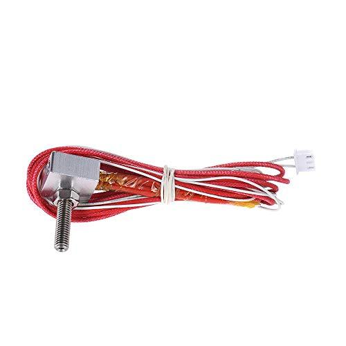 Yutongyi Drucker DIY Hot End Kit 0.4mm Düse & M6 30mm Extruder Kehle & 12V 40W Heizung & NTC 3950 Thermistor & Aluminium Heizblock Kompatibel (Size : 1)