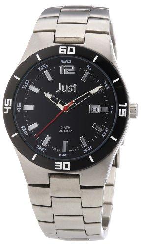 Just Watches 48-S3302-BK - Orologio uomo