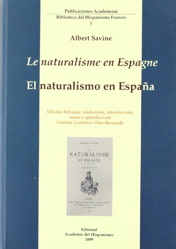 Le naturalisme en espagne/el naturalismo en España (esp-fra)