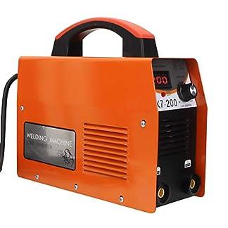Máquina de Soldadura MMA-200Amp Soldador Inverter IGBT 20-200A Ajustable Espesor de Soldadura 0.8~10 mm Máquina de Soldadura Portátil 4000W