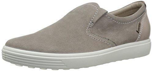 ECCO Women's Women's Soft 7 Slip Fashion Sneaker, Warm Grey Woven, 42 EU/11-11.5 M US Ecco Sneakers Slip