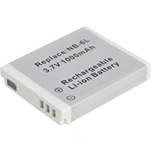 High Quality Xylo Replacement Rechargable Lithium ion Digital Camera Battery for CANON NB-6L